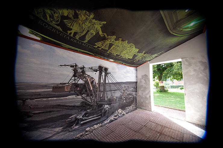 fotografická instalace ve veřejném prostoru